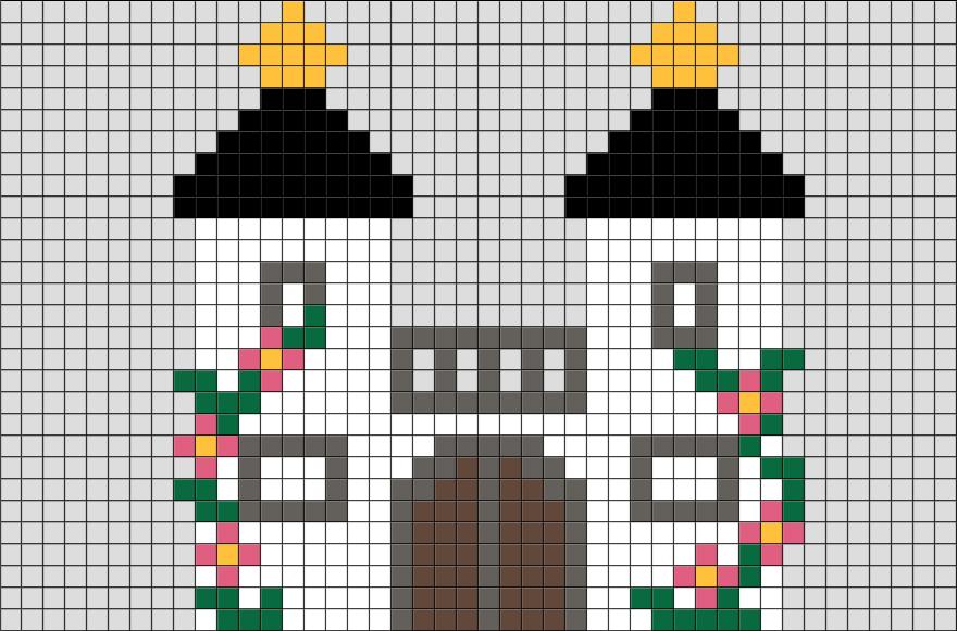 Fairy Castle Pixel Art BRIK