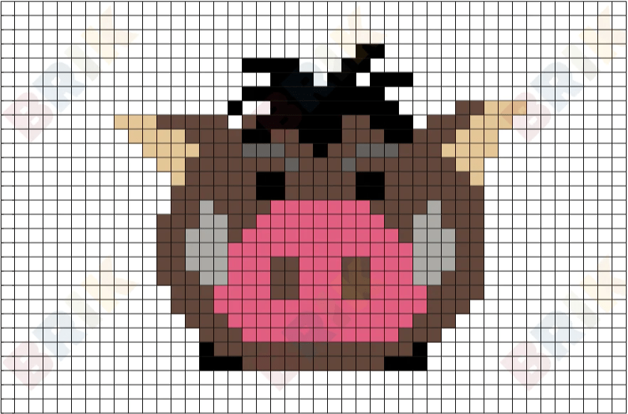 Pumbaa Pixel Art BRIK