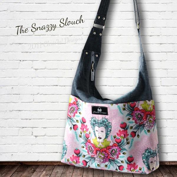 Snazzy Slouch - ChrisW Designs For Unique Designer Bag Patterns - 1
