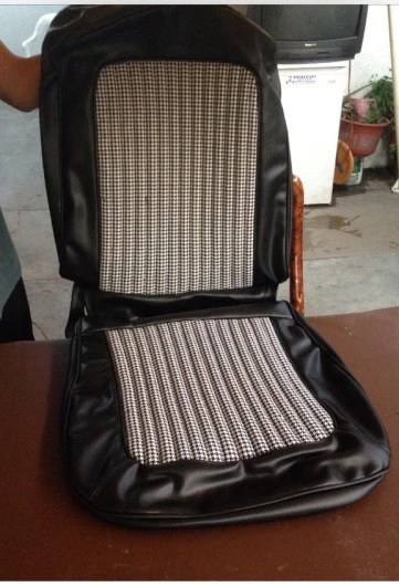 Black And White Houndstooth Seat Covers The Bronco Hut