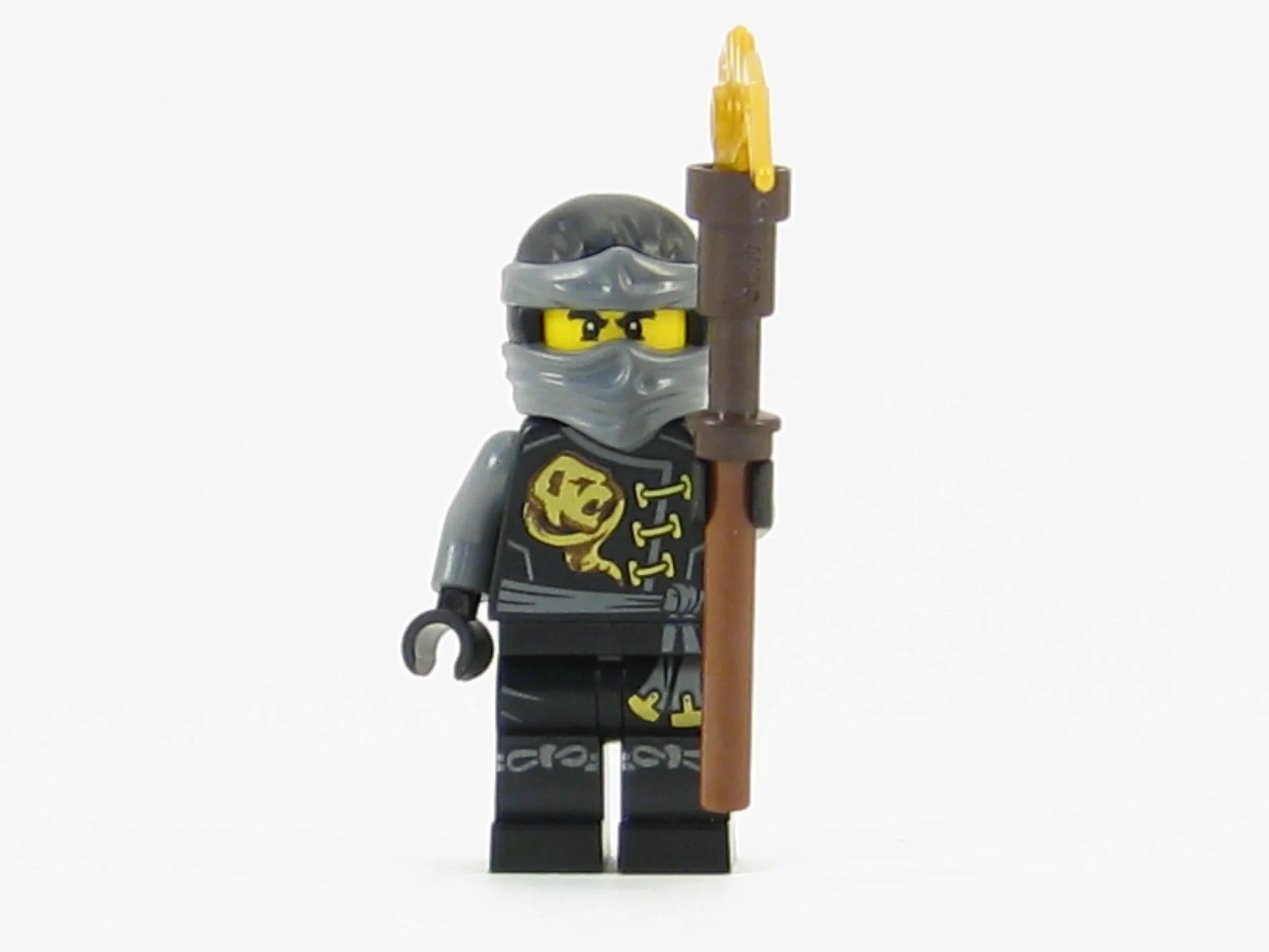 LEGO Ninjago Skybound Cole Black Ninja Minifigure Sky