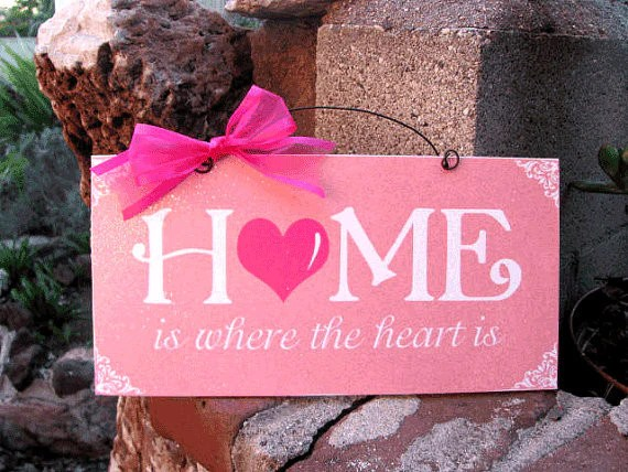 Home Is Where The Heart Is Wreath And Sign Cypress