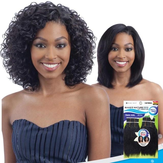 wet & wavy hair wigs & weaves: 2 styles in 1