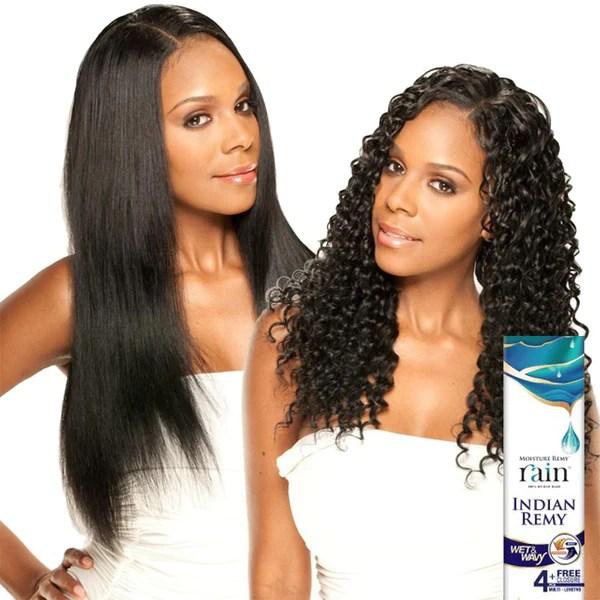 Moisture Remy Rain Indian Hair Weave LONG DEEP 4 PCS