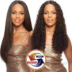 shake n go saga indian remy human hair weave long deep 4pcs wet wavy beautyshoppers