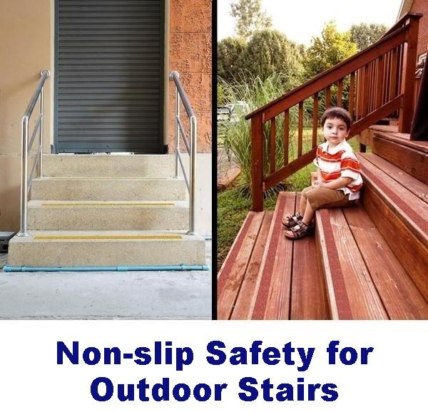 Non Slip Tape For Outdoors Wood Tile Concrete And More – No | Outdoor Adhesive Stair Treads | Indoor Outdoor | Bullnose Carpet | Flooring | Carpet Stair | Tape Adhesive