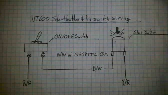 honda shadow wiring diagrams  tj brutal customs support