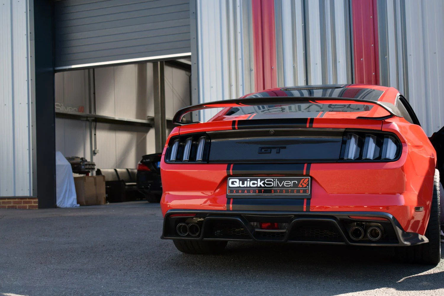 ford mustang 5 0 gt sound architect active valve sport exhaust 2015 18