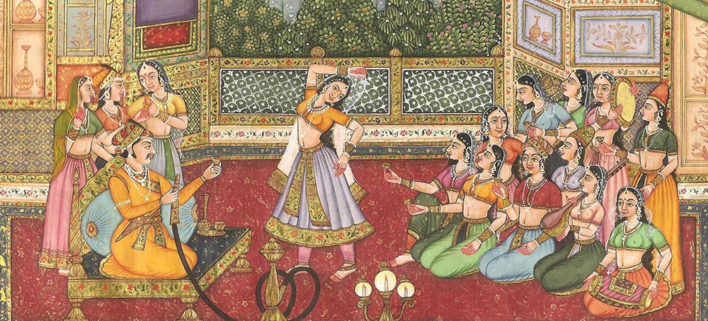 Image result for historical paintings of india