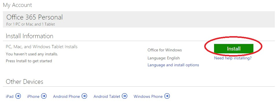 Support - Espanol - Microsoft Office Install ...