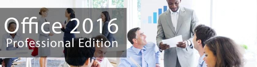 Microsoft Office 2016 Professional Edition