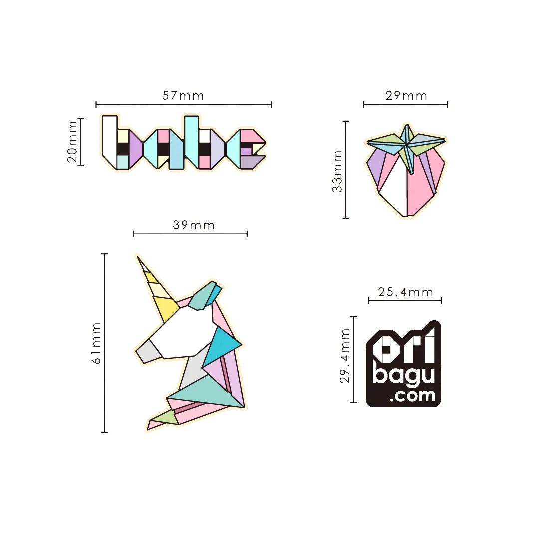 摺紙別針組_babe | 25TOGO DESIGN STORE