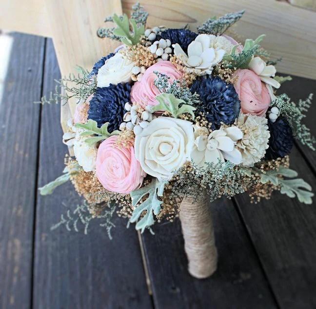 Bridal Bouquet Wedding Bouquet Sola Flowers Dusty