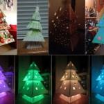 How To Make A Cardboard Christmas Tree Makedo