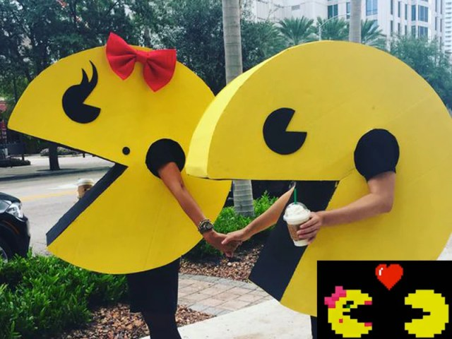 Pac-Man and Ms Pac-Man