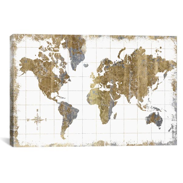 All That Glitters GILDED MAP     Apt2B All That Glitters GILDED MAP