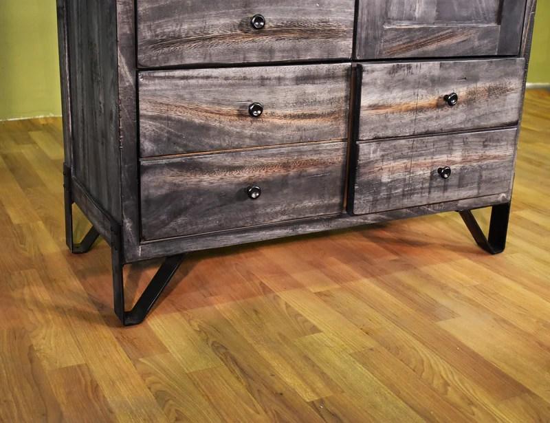 Sawyer Parota Wood Armoire / Dresser