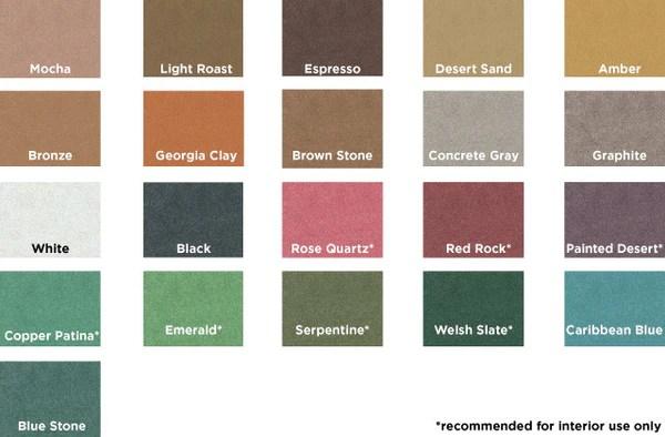 Chart Stain Espresso Color