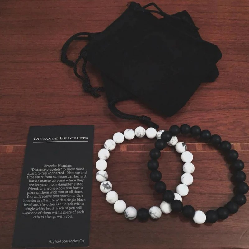 Distance Bracelets Alpha Accessories Bracelets Free Shipping