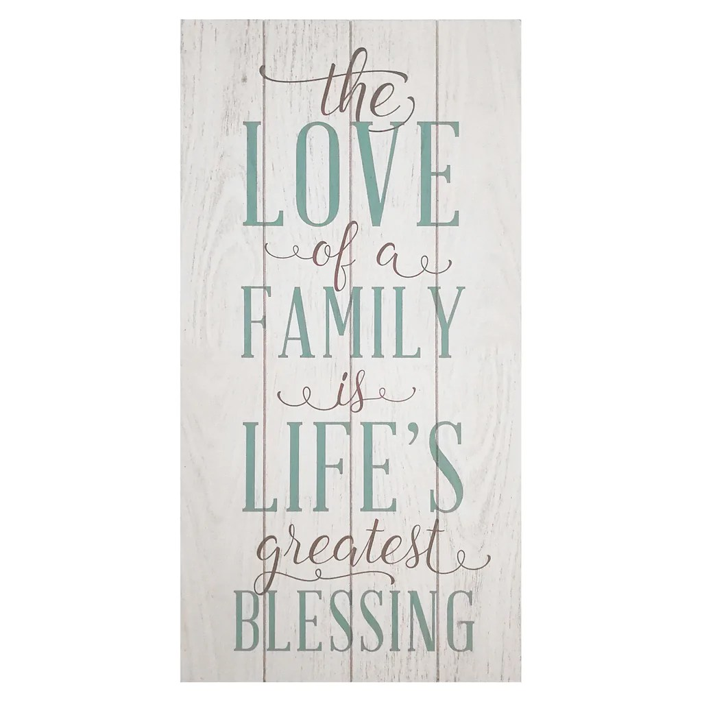"""Download """"The love of a family is a life's greatest blessing"""" Wall ..."""
