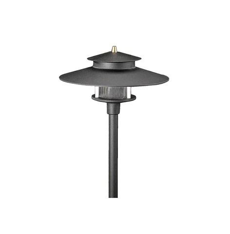 vista outdoor lighting pr 9206 b 2 5 w t3 2 tier pagoda path light black warm
