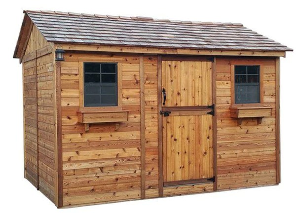Outdoor Living Today - 12 x 8 Cabana Shed with Dutch Door ... on Outdoor Living Today Cabana id=36692