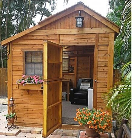 Outdoor Living Today - 8 x 8 Sunshed Garden Shed with ... on Garden And Outdoor Living id=15455