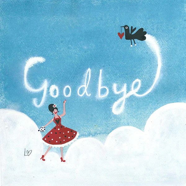 Download Card | Goodbye In the Sky | Lucy Loveheart