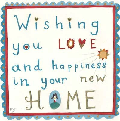 Card Happy Home Lucy Loveheart
