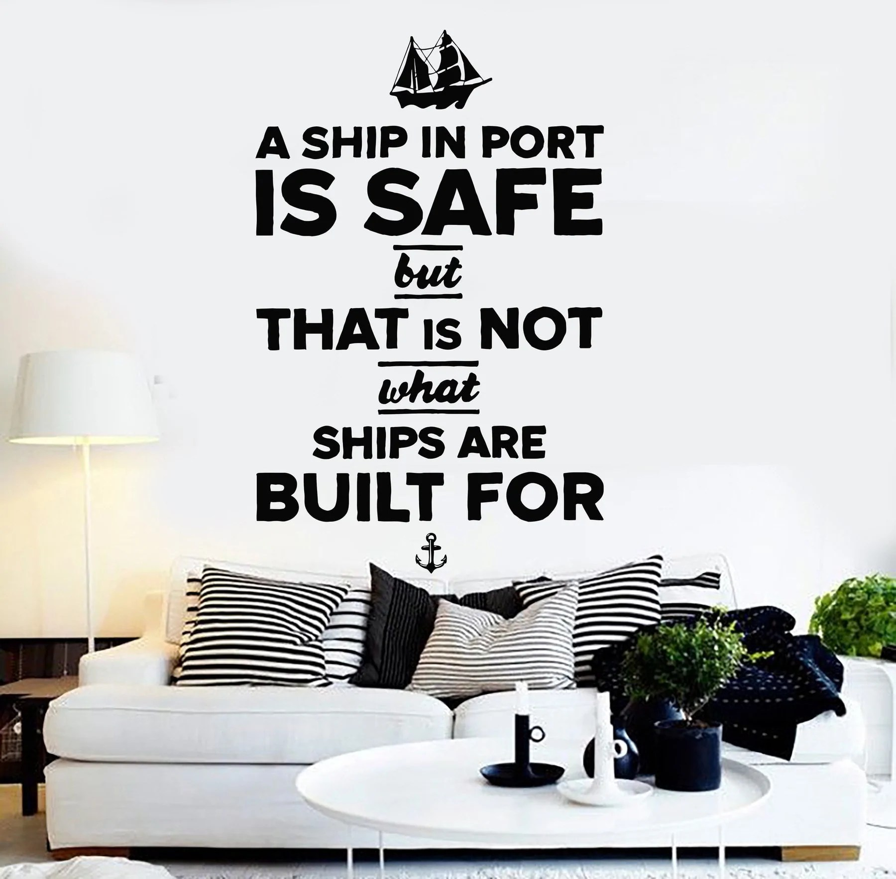 Vinyl Wall Decal Quote Inspiration Motivation Living Room Stickers Mural Unique Gift 133ig