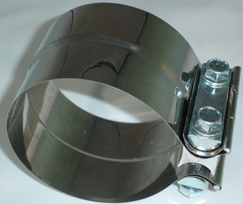 4 lap joint exhaust clamp