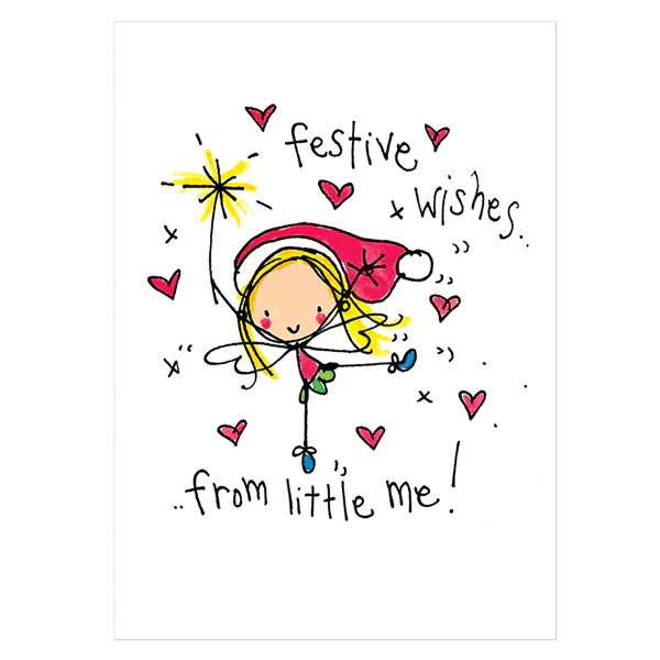 Christmas Card Pack Fairy Christmouse Pack C Juicy