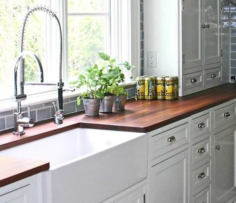 Farmhouse Fab Kitchen Design - The Original Granite Bracket on Farmhouse Countertops  id=85209