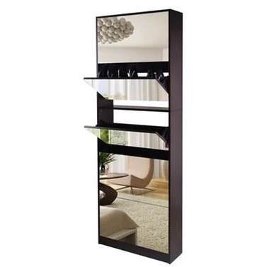 stackable stylish mirrored 5 levels shoe cabinet ondemand shopping