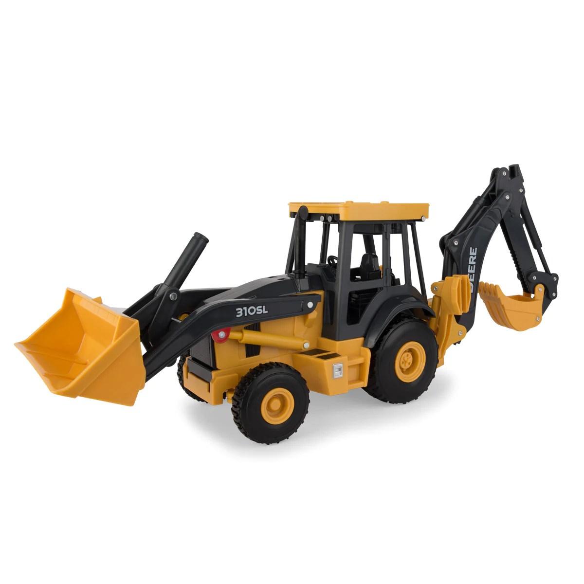 Toy 16 Deere John 1 Backhoe