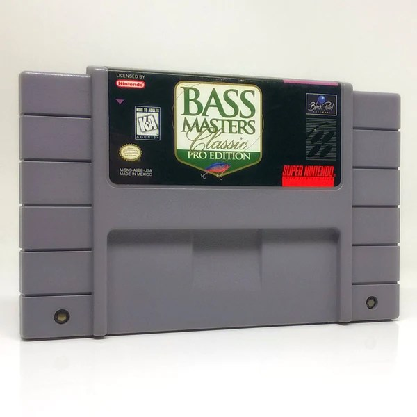 Buy Bass Masters Classic Pro Edition SNES Super Nintendo Game