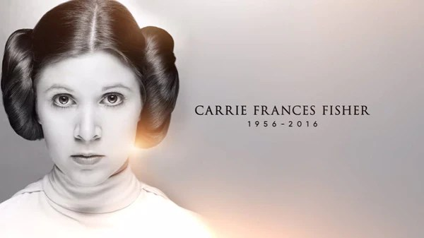 Carrie Fisher Tribute Video