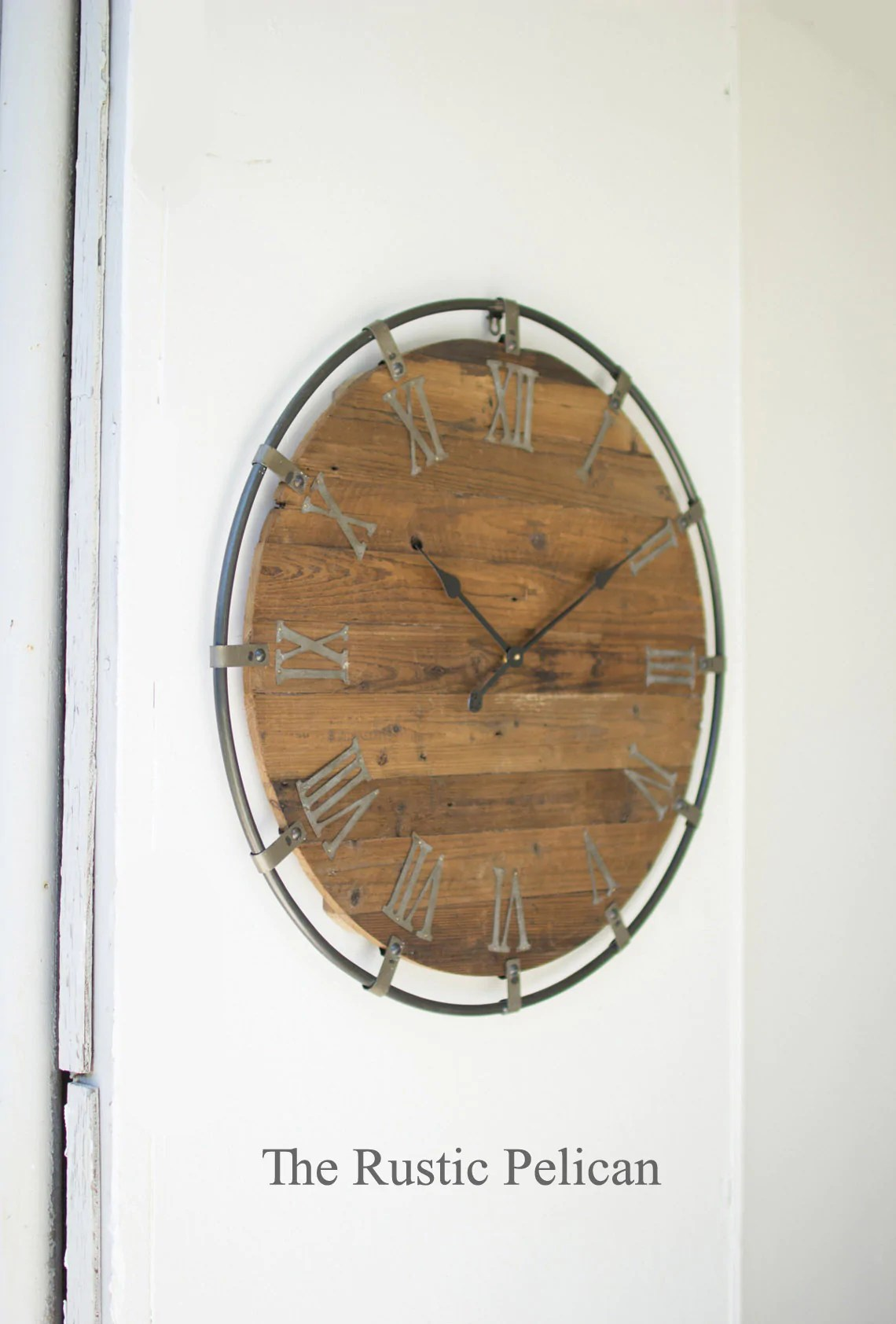 All Tagged Large Wall Clocks The Rustic Pelican