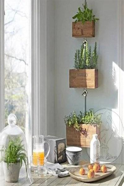 Tiered Hanging Planter
