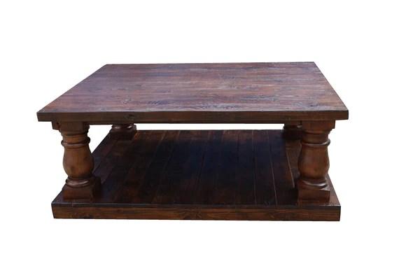 Handmade Postobello Reclaimed Wood Coffee Tables Custom