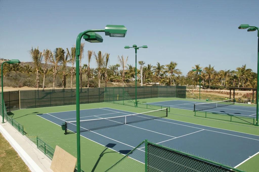 tennis court lighting active sports