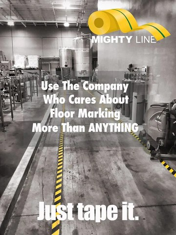 Mighty Line Floor Tape - Just Tape It