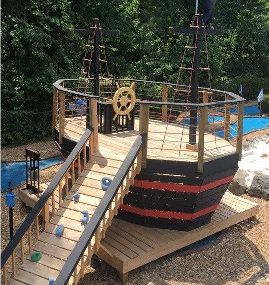 10x15 Brawny Brigantine Pirate Ship Plan For Kids Paul S