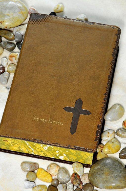 NIV Teen Rock Solid Faith Study Bible Brown Celebrate