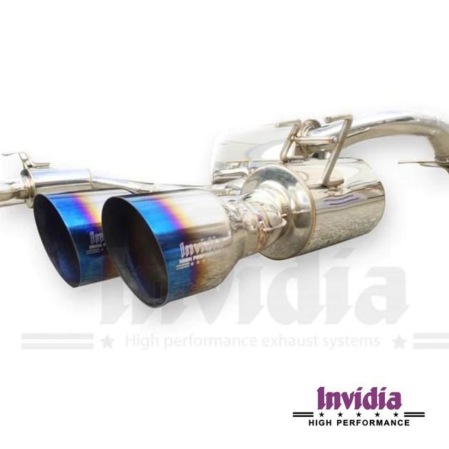 invidia q300 exhaust system honda civic type r fk2 2 0t k20c1 20 dream automotive