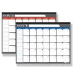 Bazic 17 X 22 Undated 12 Month Desk Pad Calendar Bazicstore