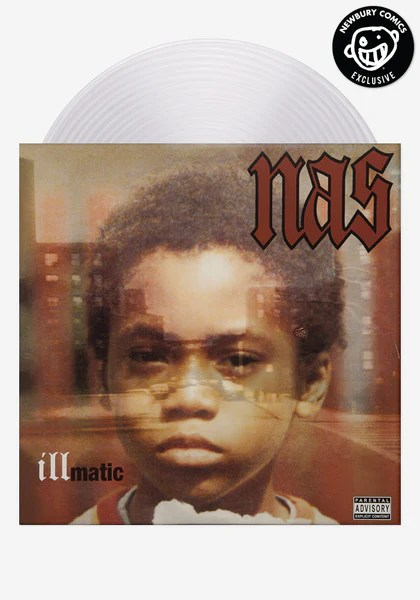 Nas Illmatic Exclusive LP Color Vinyl Newbury Comics