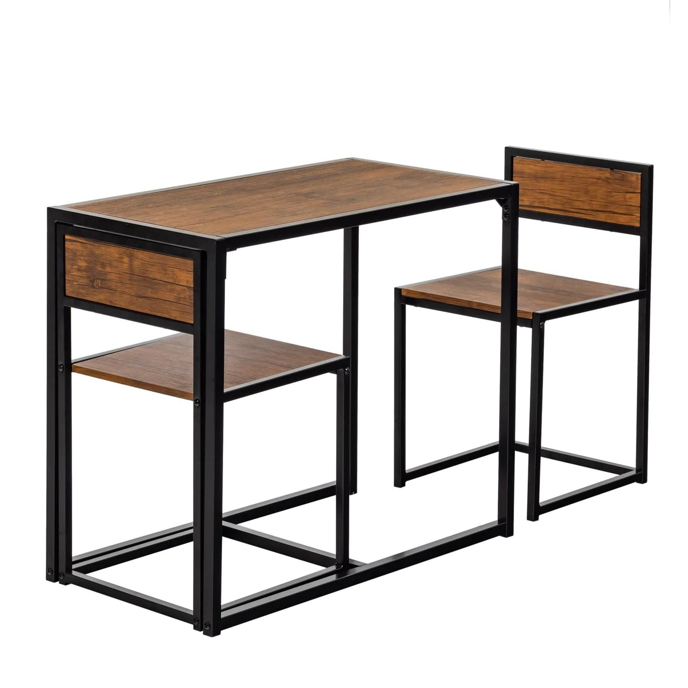 Harbour Housewares Compact Dining Table Chairs Set Rinkit Com