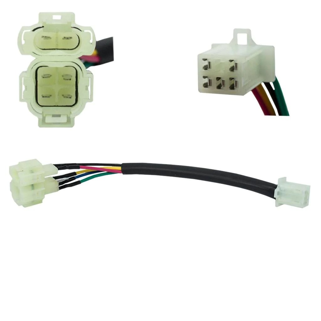Jumper Wire 5pin CDI to 6pin CDI Honda style plug | VMC