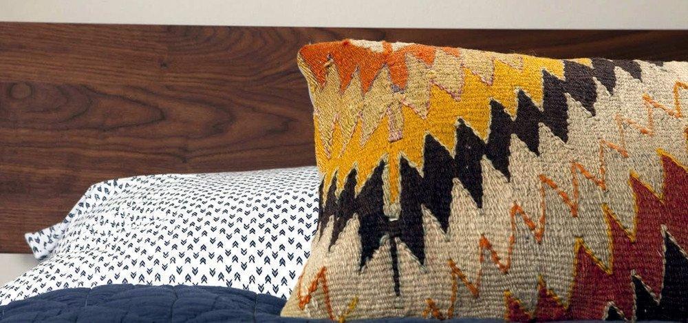kilim pillows handmade of vintage kilims